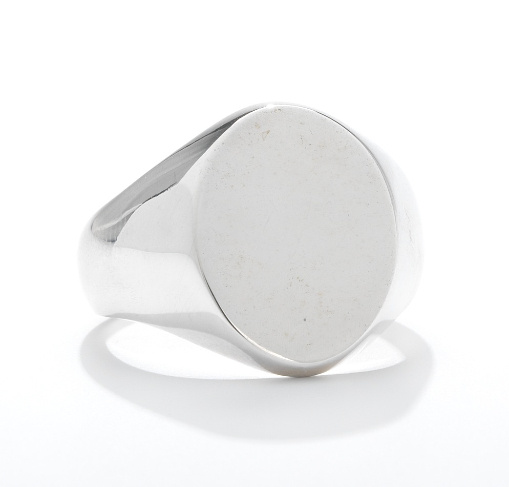 A Tiffany Amp Co Sterling Silver Signet Ring 02 07 14