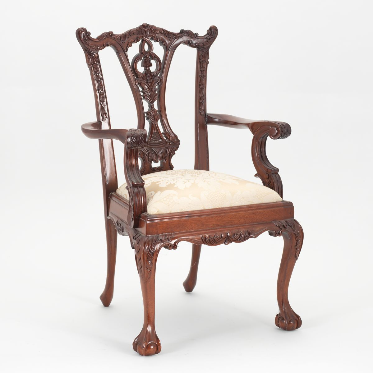 Chippendale arm chair - A Child Size Chippendale Arm Chair