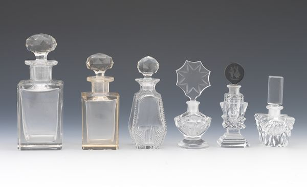 Decorative Clear Glass Bottles Beauteous Search Result  Aspire Auctions Inspiration Design