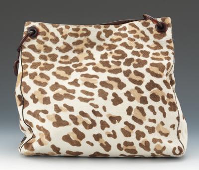 prada beige handbags - prada ponyhair double zip tote, replica prada handbags china