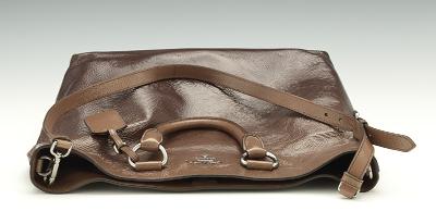 Prada Mirtillo Ombre Patent Leather Shopper Tote, 03.28.14, Sold: $529