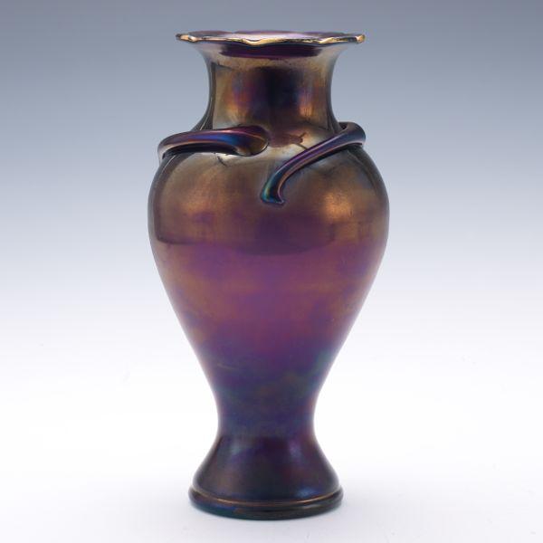 Antique Dark Purple Glass Vase Glass Designs