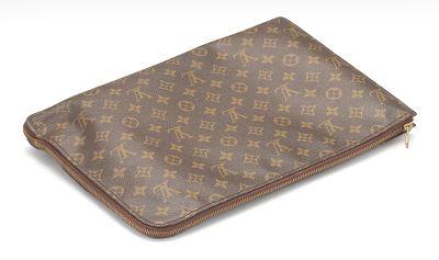 bd5b092cc4b60 Louis Vuitton Monogram Canvas Document Holder Briefcase Laptop Bag ...