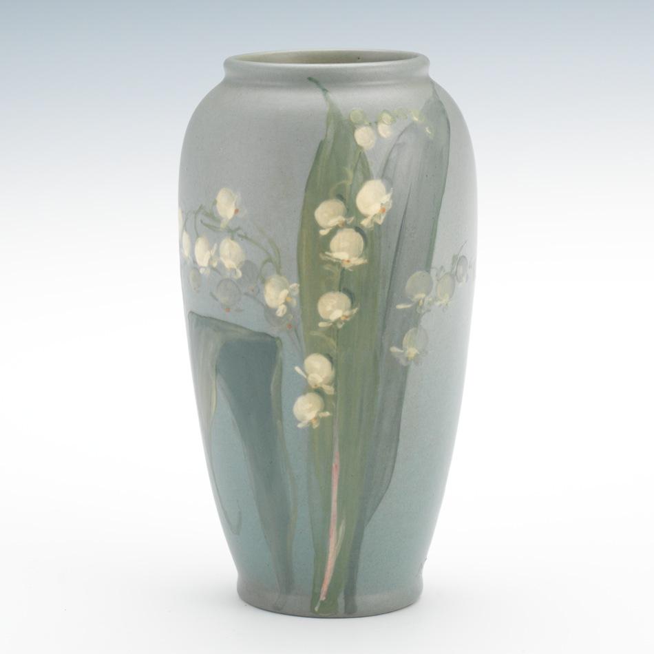 A weller hudson vase signed by sarah mclaughlin 052214 sold 391 a weller hudson vase signed by sarah mclaughlin reviewsmspy
