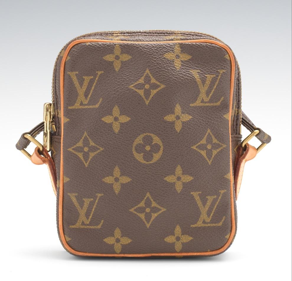 574ab4f16314 Louis Vuitton Monogram Canvas Mini Danube Pochette Cross Body Bag ...