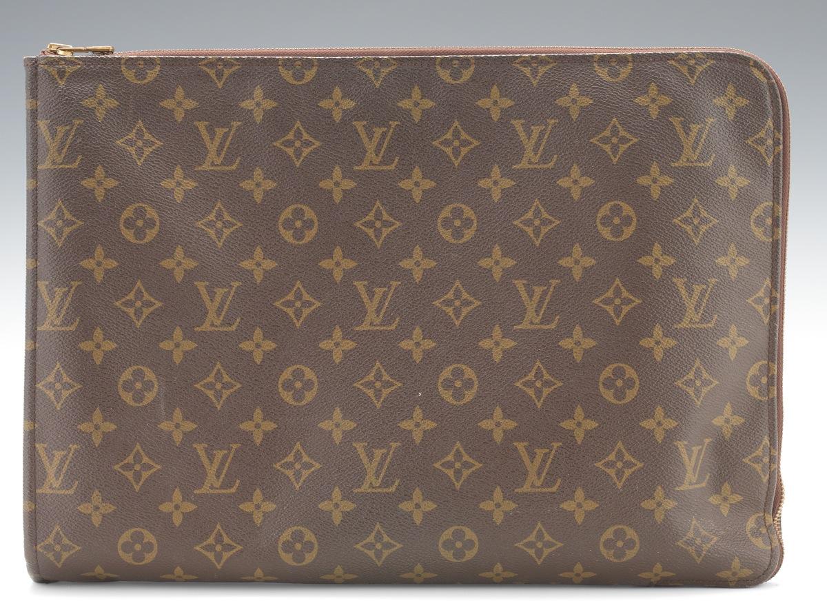2401ccc03941 Louis Vuitton Monogram Canvas Document Holder Briefcase Laptop Bag ...
