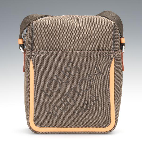 Louis Vuitton Terra Damier Geant Citadin PM Messenger Bag