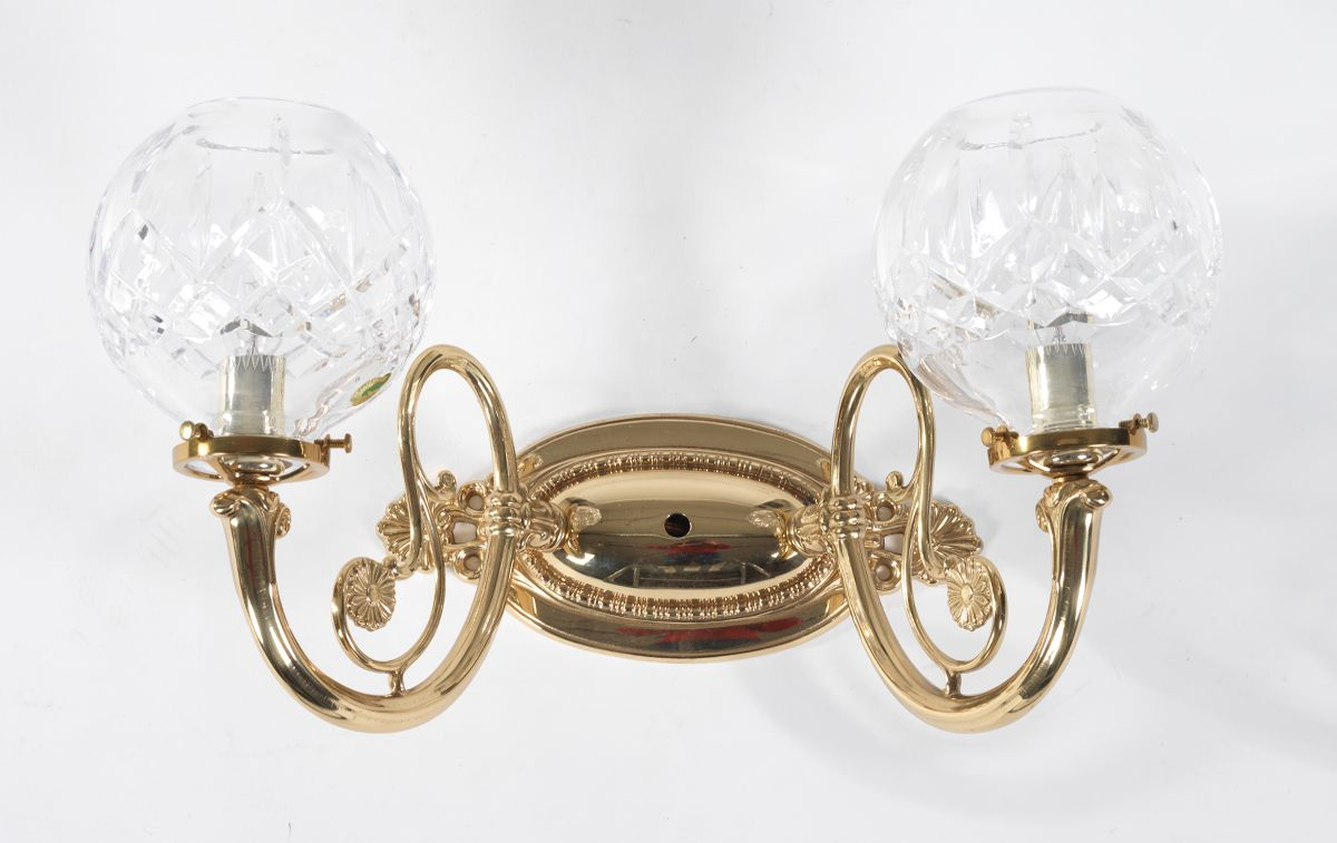 Waterford lismore wall sconce 110114 sold 161 waterford lismore wall sconce arubaitofo Image collections