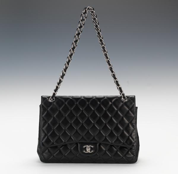 cfec7d494a78 Chanel Vintage Black Satin Evening Mini Flap With Tassel , 11.01.14 ...