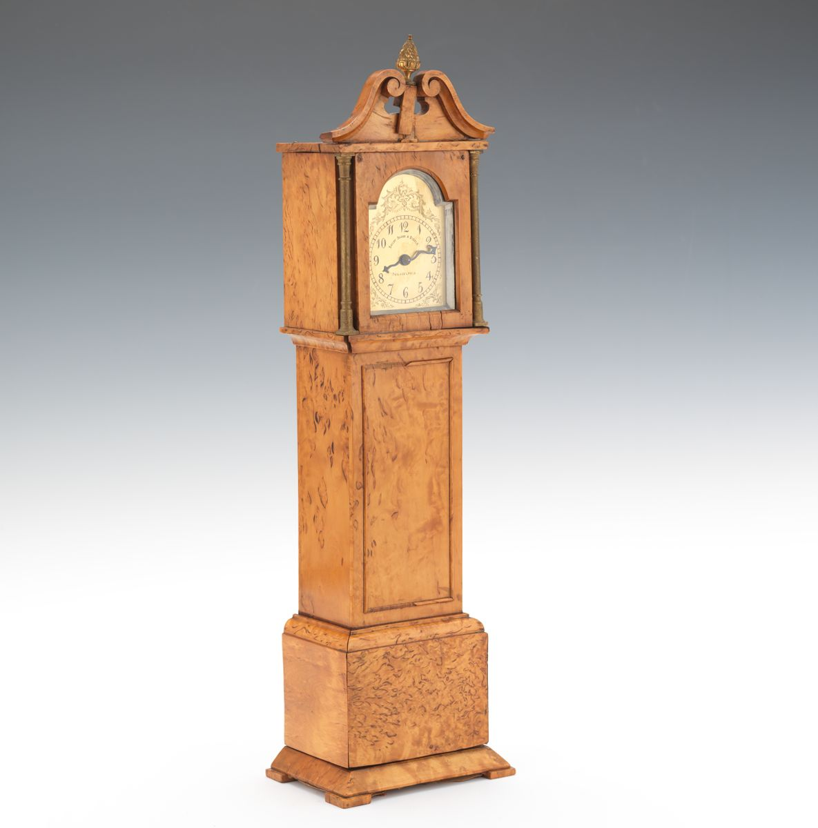 A Miniature Tall Clock Bailey Banks Biddle Philadelphia 09 04 14 Sold 316 25