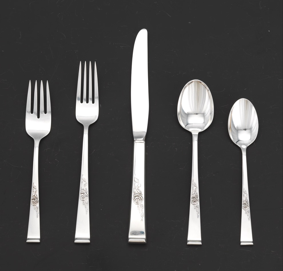 """Kings by Reed /& Barton Sterling Silver Dinner Fork 8/"""""""