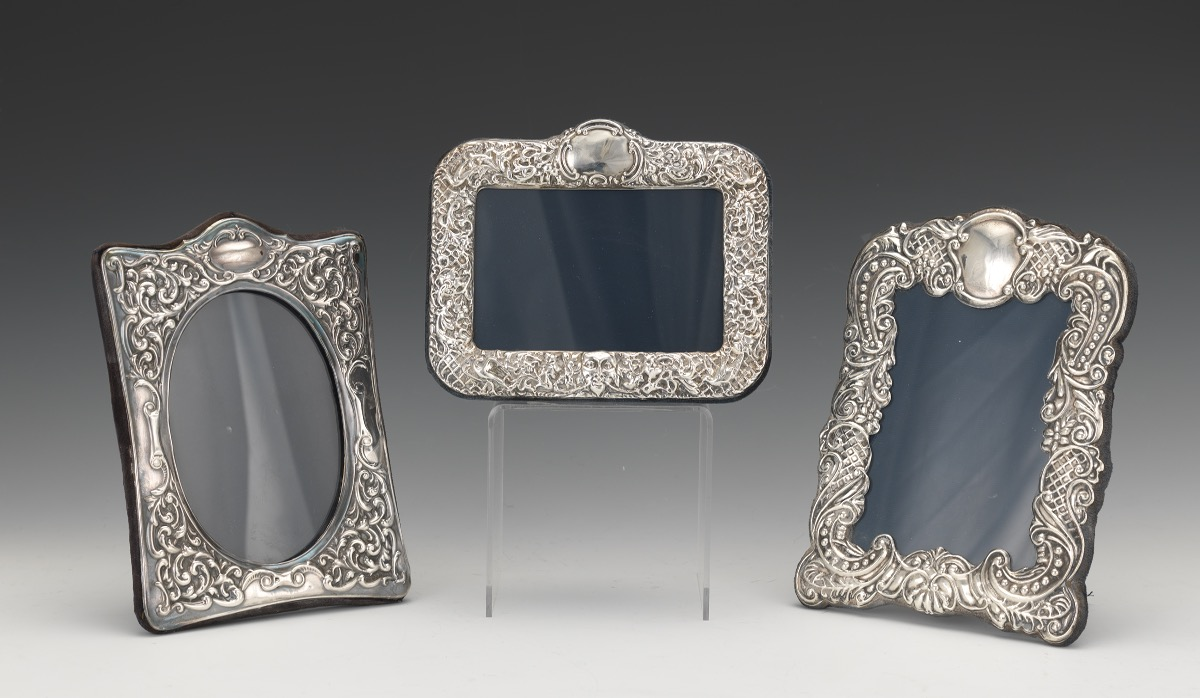 RBB London English Sterling Silver Picture Frames, 12.10.15, Sold ...