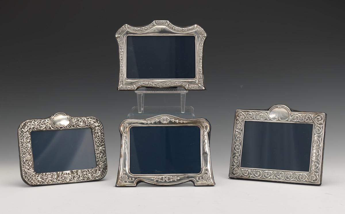 John Bull Ltd. English Sterling Silver Picture Frames, 12.10.15 ...
