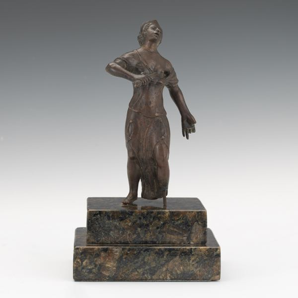 Marble Sculpture Aspire Auctions - This beautiful bronze sculpture has been attached to a tree since 1968