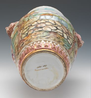 Capodimonte Vase Prices Vase And Cellar Image Avorcor