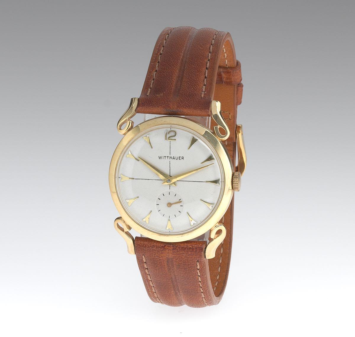 14k gold wittnauer fancy lug watch 022115 sold 575 14k gold wittnauer fancy lug watch sciox Choice Image