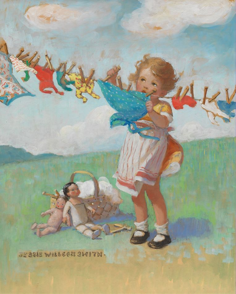 Jessie Willcox Smith American 1863 1935 04 16 15 Sold