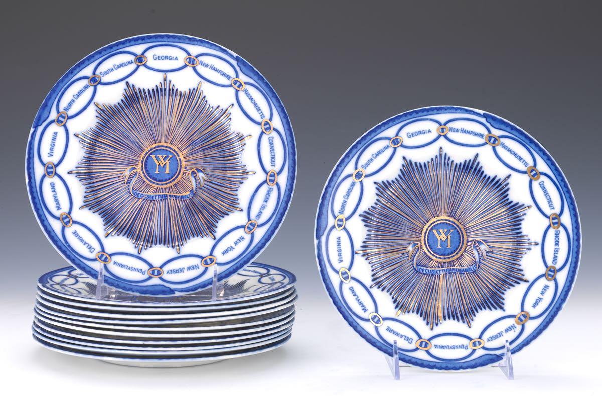 Twelve Woods Burslem Martha Washington Plates ca. 1930\u0027s & Twelve Woods Burslem Martha Washington Plates ca. 1930\u0027s 04.18.15 ...