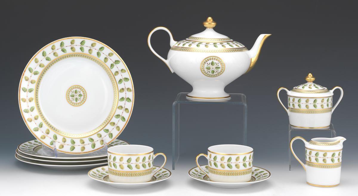 bernardaud limoges constance porcelain tableware. Black Bedroom Furniture Sets. Home Design Ideas