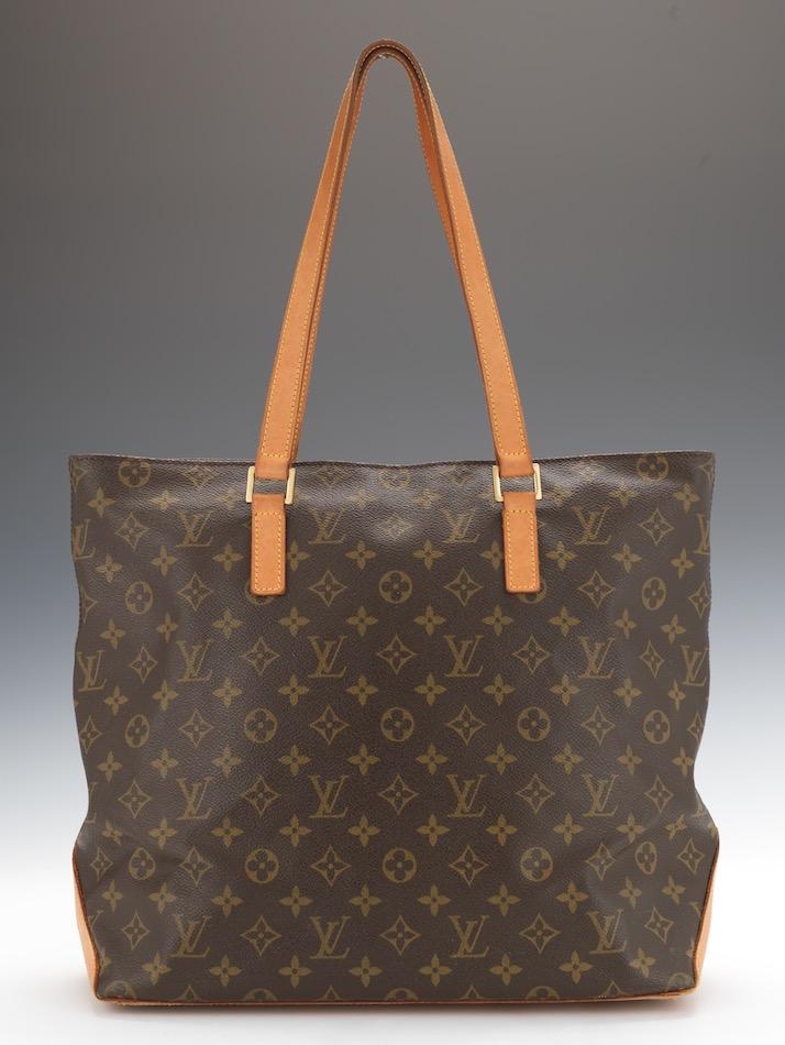 43891103839 Louis Vuitton Monogram Canvas Cabas Mezzo Shoulder Bag, 04.18.15 ...