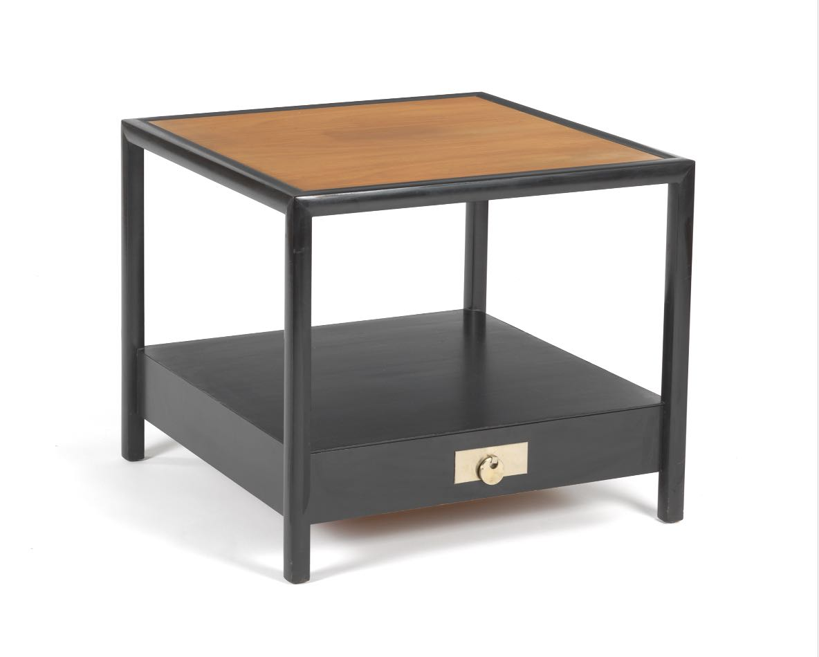 New World Michael Taylor End Table For Baker Furniture