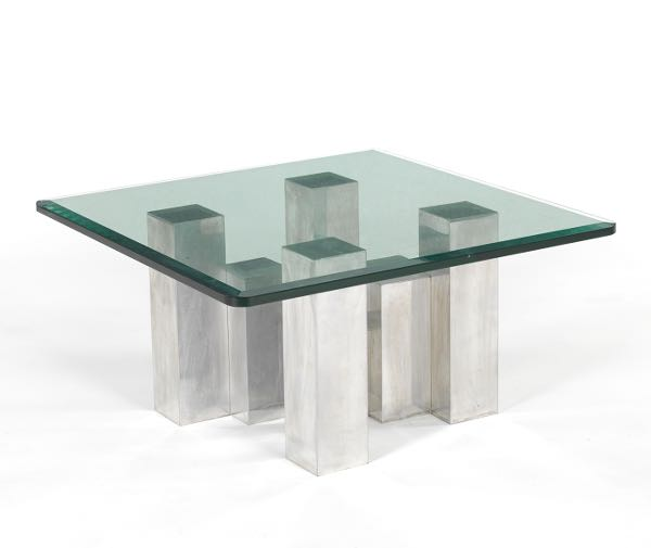 Habitat Herrmann Square Glass Coffee Table: 20th Century Design // Featuring Works From The Martha