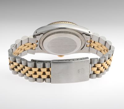 Rolex Oyster Perpetual Date Just 18k Stainless Superlative