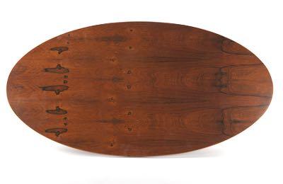 Milo Baughman For Thayer Coggin, Rosewood Coffee Table