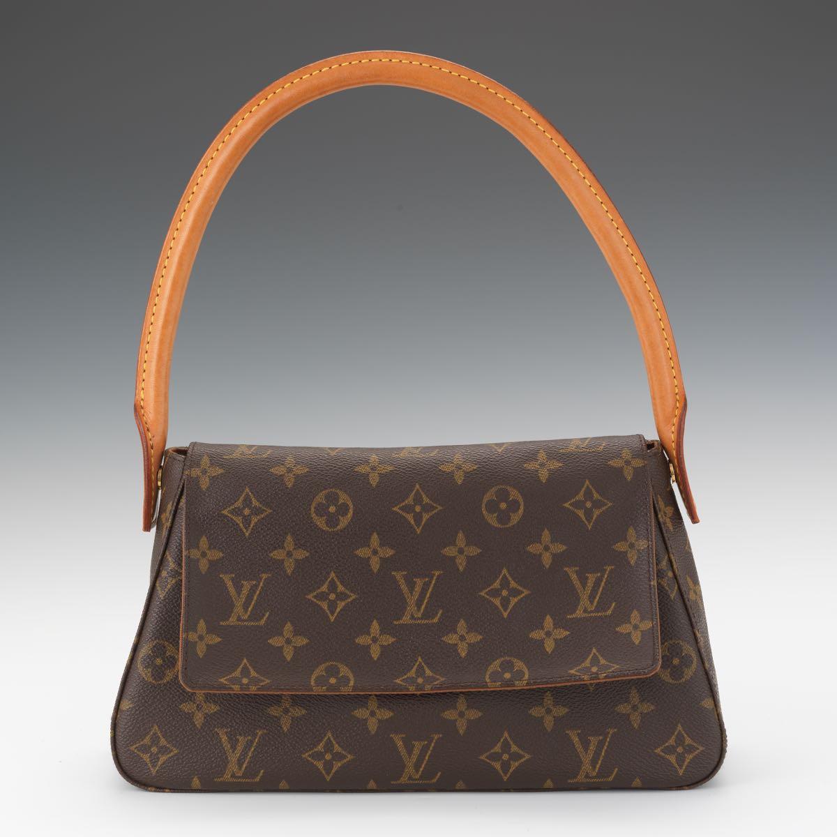 71832d12a1cf Louis Vuitton Monogram Canvas Mini Looping Bag