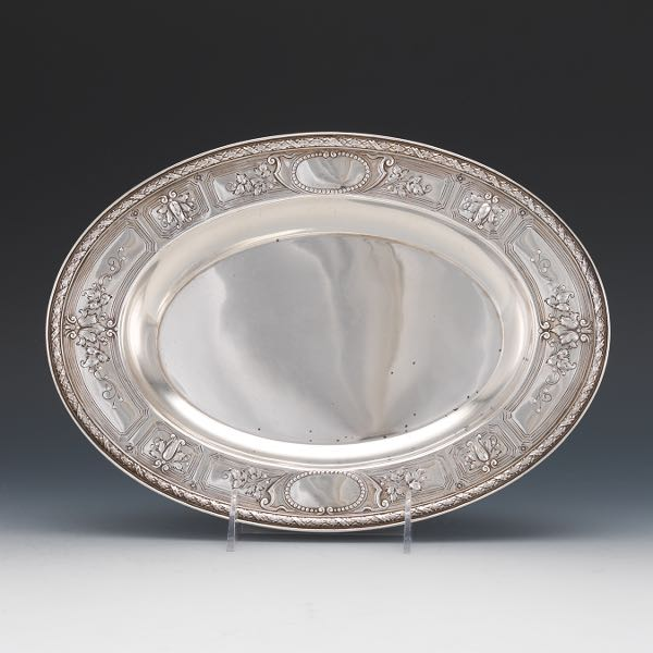Aspiring Chased Romantique By Alvin Sterling Silver Regular Place Setting s 4pc