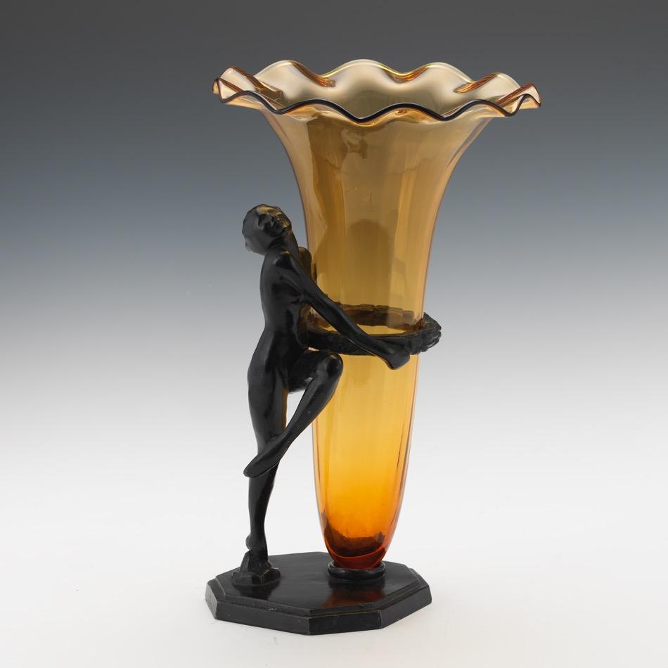 Frankart art deco vase holder dated 1927 022016 sold 3068 frankart art deco vase holder dated 1927 reviewsmspy
