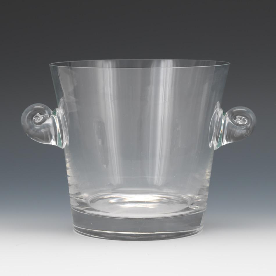 Tiffany Amp Co Glass Ice Bucket 02 20 16 Sold 123 9