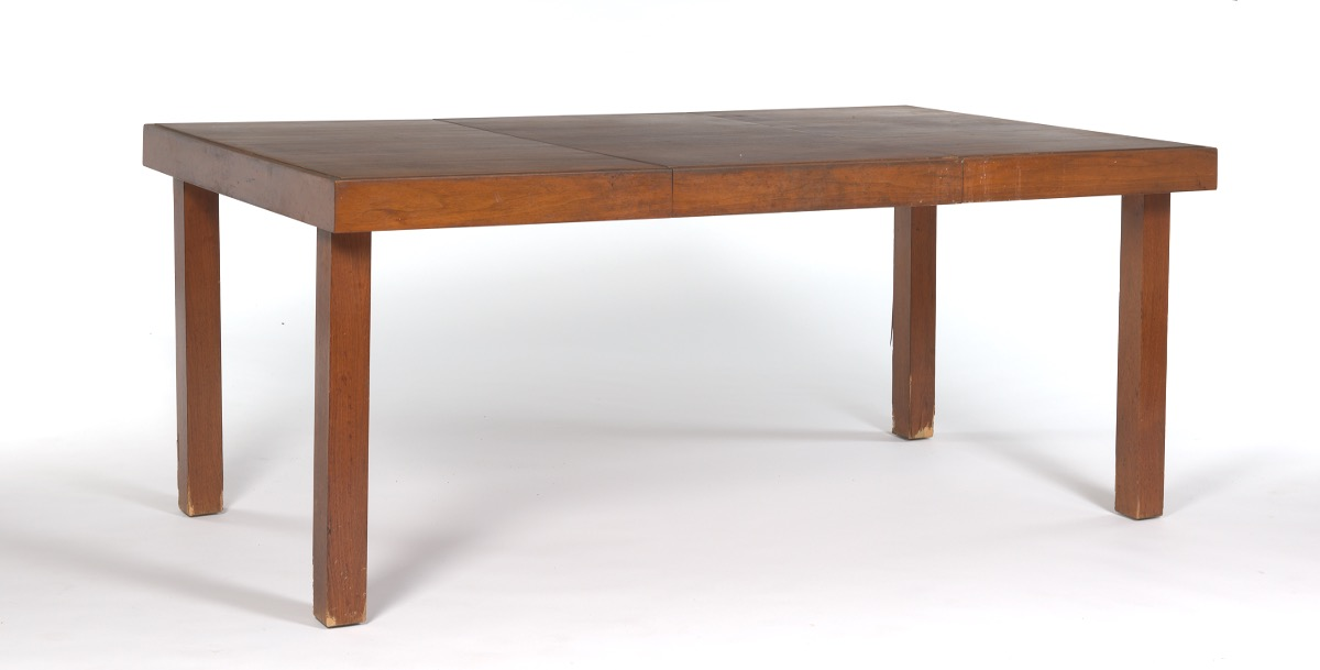 George Nelson For Herman Miller Walnut Primavera Dining Table 02 18 16 Sold 1073 8