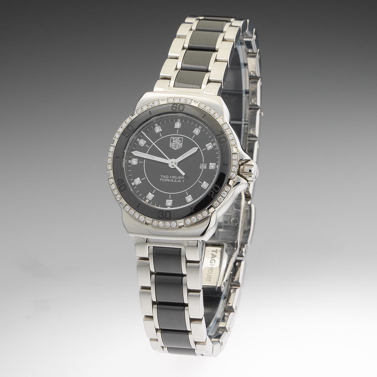 e0a7d8e8155c Ladies  Tag Heuer Formula 1 Stainless Steel
