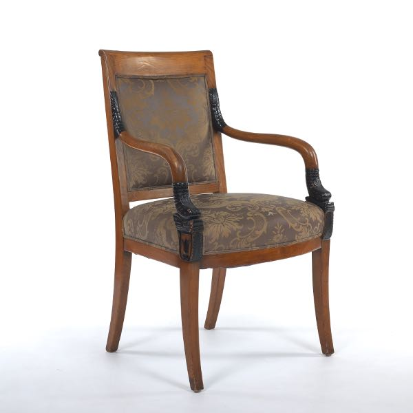 Modern Design Fauteuil.French Fauteuil Aux Dauphins Empire Armchair 10 29 16 Sold 188 8