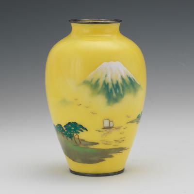Japanese Ando Cloisonne Vase Ca 1910 091416 Sold 2478