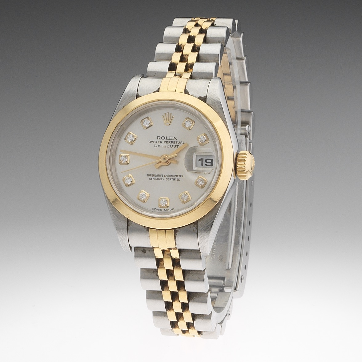 Rolex Oyster Perpetual Datejust 18k Gold