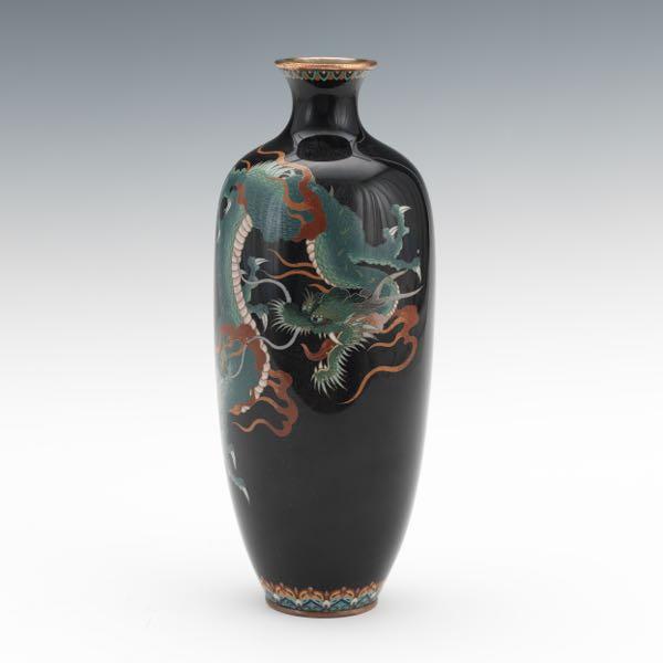 Japanese Cloisonne Vase Aspire Auctions