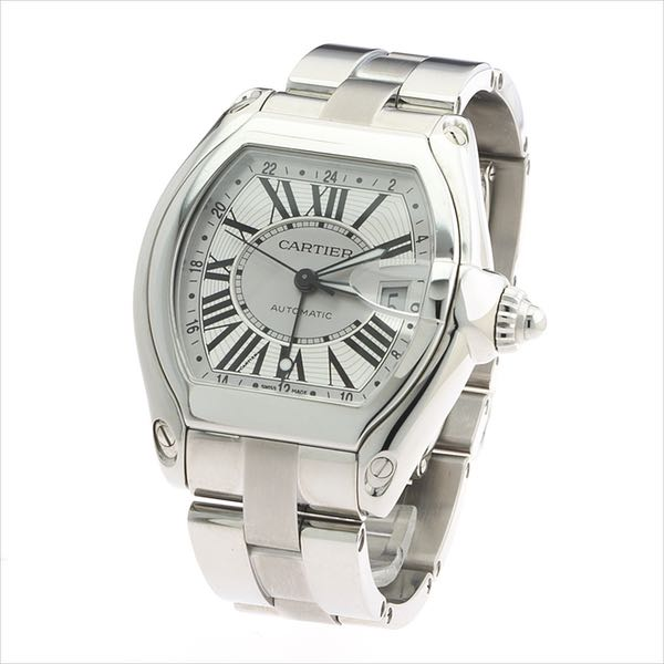 716ad223ba7 Cartier Roadster Stainless Steel Automatic Watch