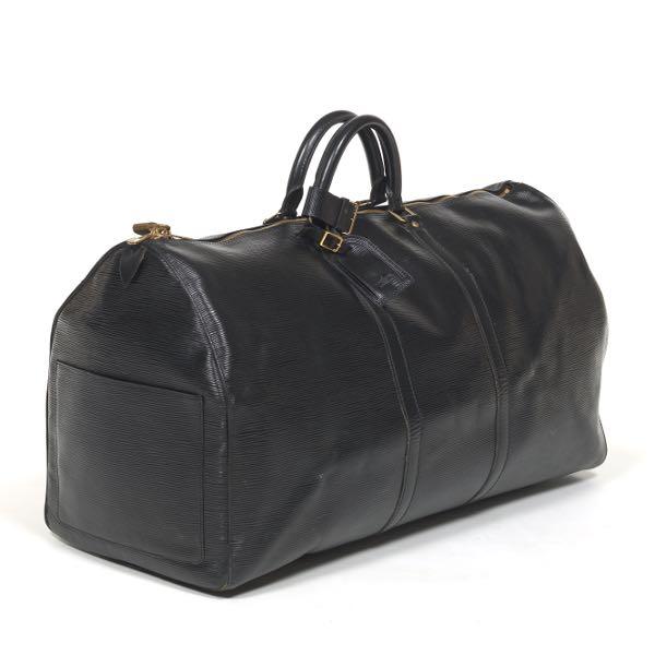Louis Vuitton Vintage Black Epi Leather Keepall 55 ea396db8f190d