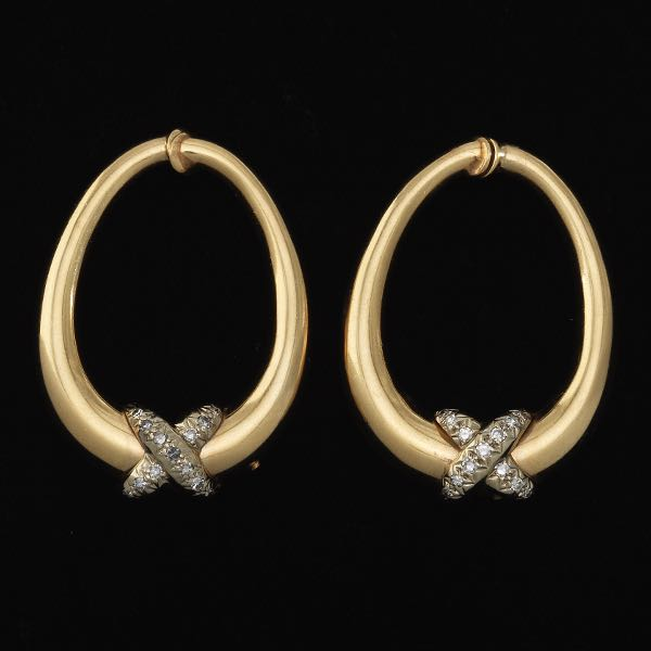 79ee39607f158 Diamond earrings // Aspire Auctions