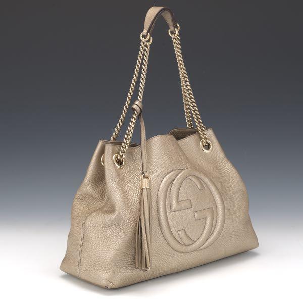 8a5149407 Gucci Soho Chain Shoulder Bag